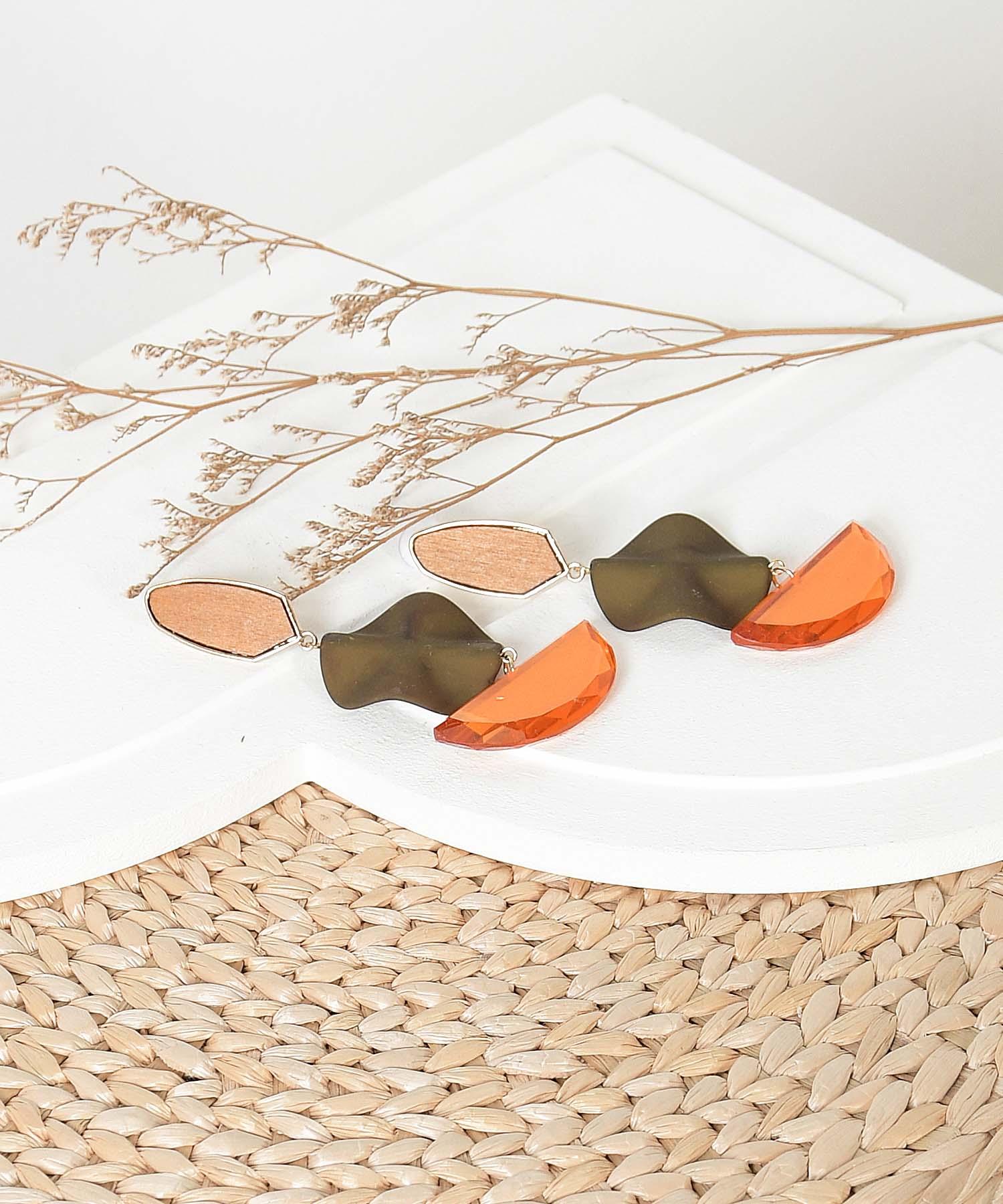 markle-drop-earrings-orange-olive-1