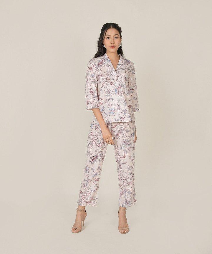 Gjelina Paisley Loungewear Co-ord