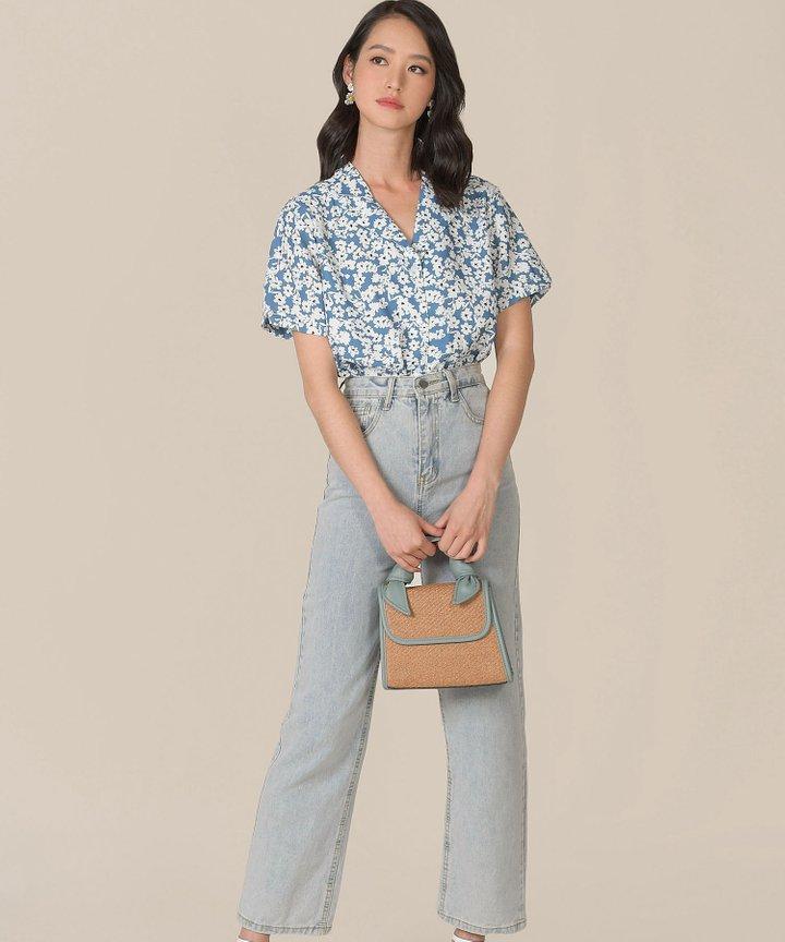 Lucky Floral Print Shirt