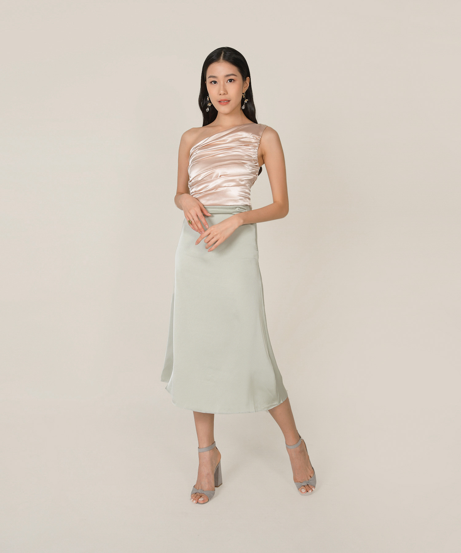 elixir-ruched-satin-toga-top-champagne-3