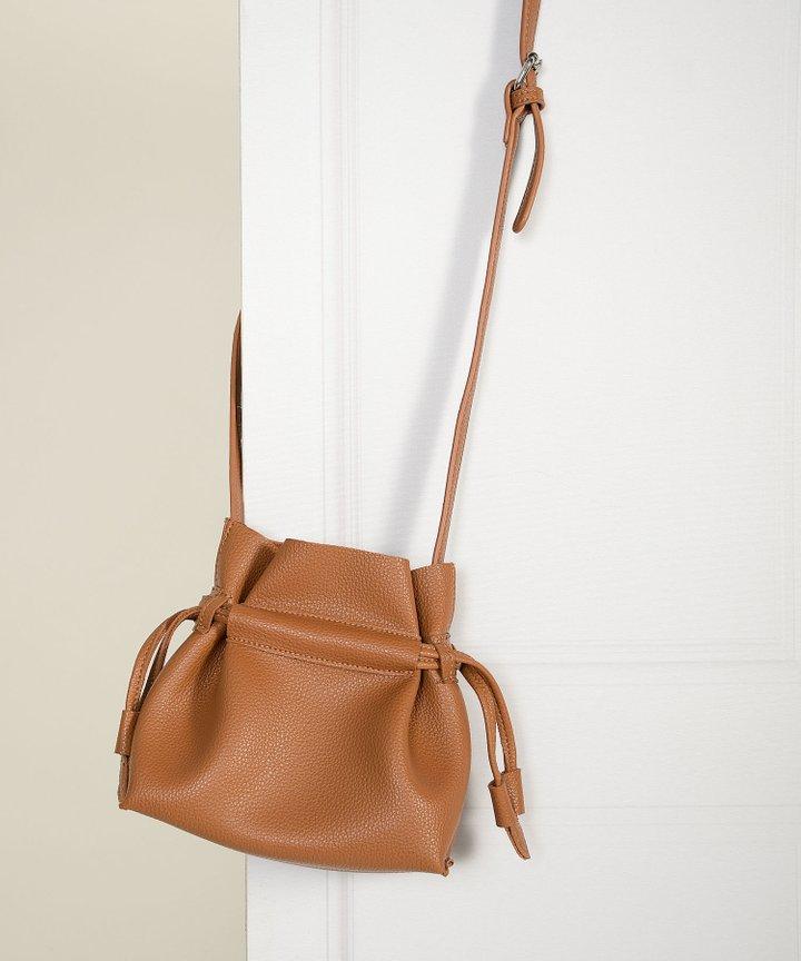Caspian Bucket Bag - Ginger