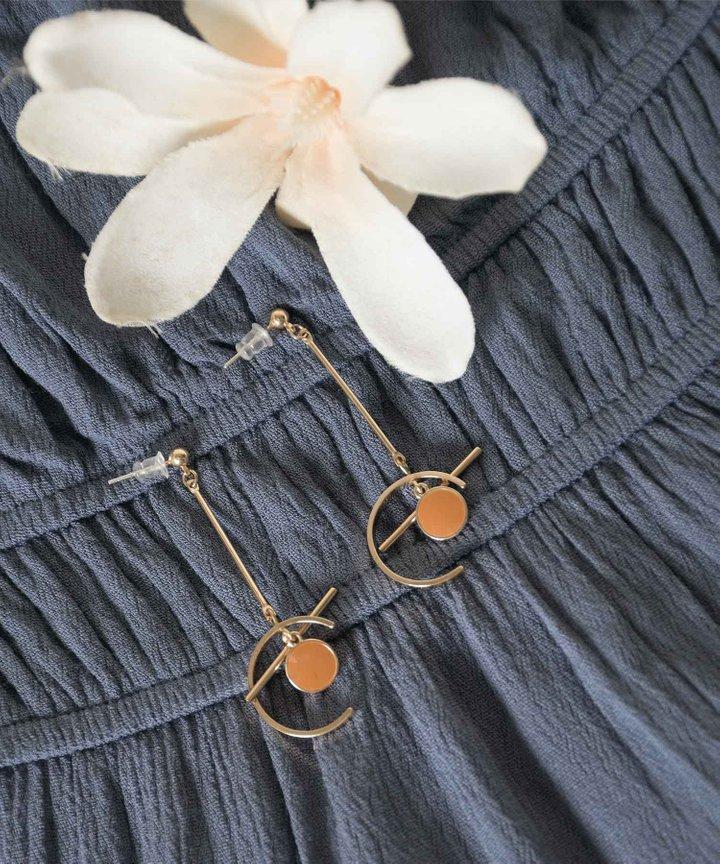Klint Geometry Drop Earrings