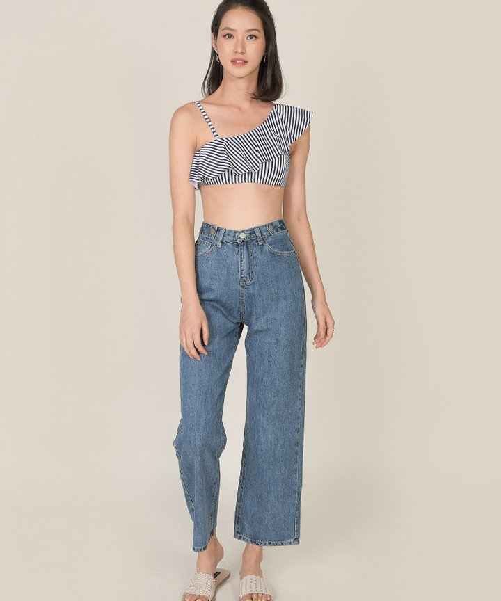 Halifax Straight Jeans - Medium Blue