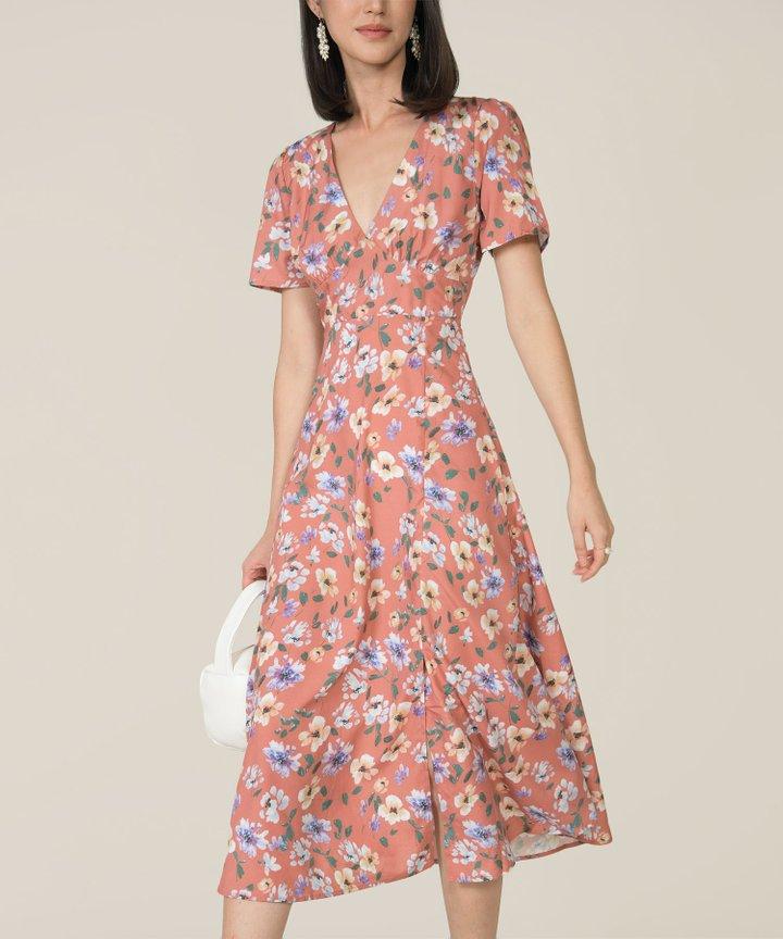 Odilet Floral Midaxi Dress