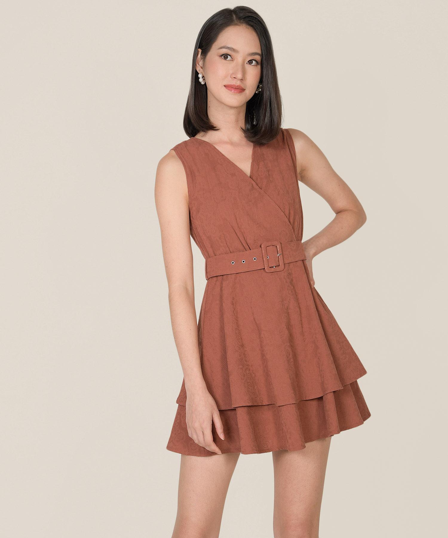 margot-textured-tiered-dress-redwood-1