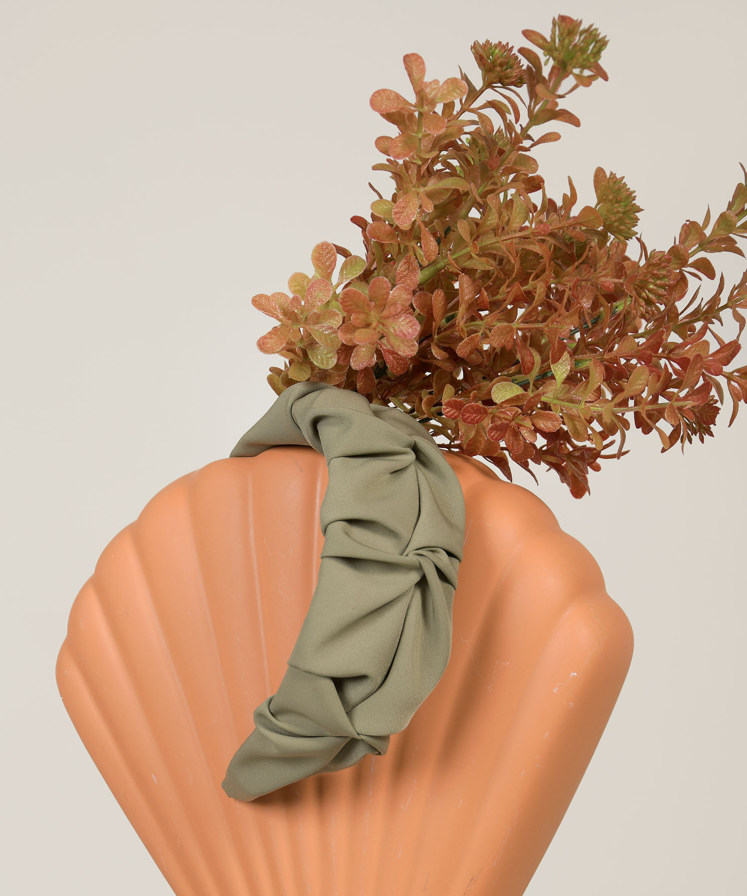 pisces-ruched-hairband-olive-1