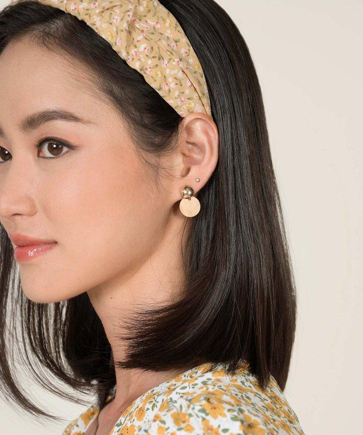 Ajo Pendant Earrings - Birch