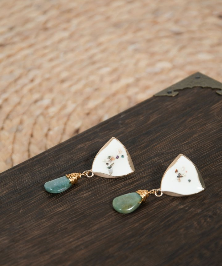 Atlantic Drop Earrings
