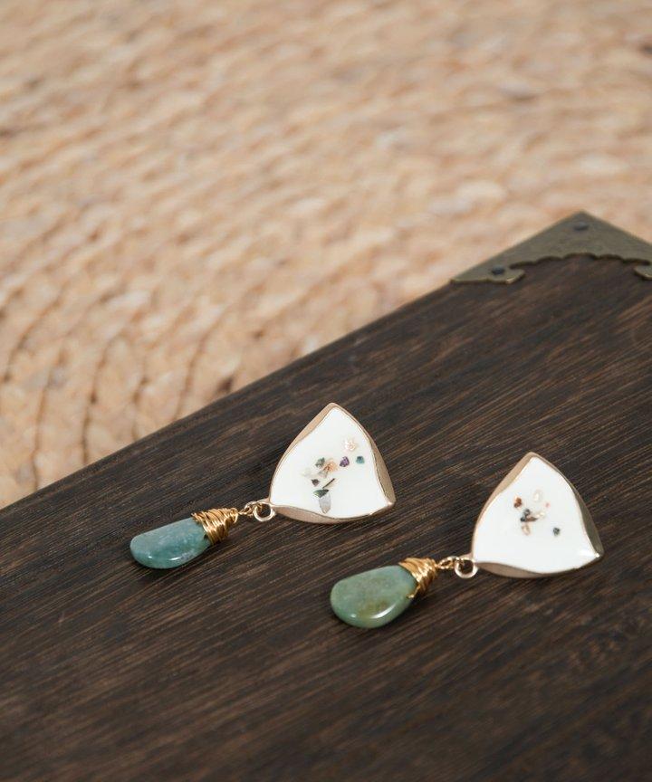 Atlantic Drop Earrings
