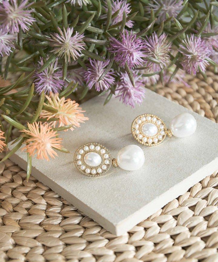 Malta Pearl Drop Earrings