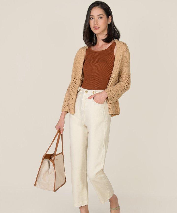 Nouvelle Crochet Knit Cardigan