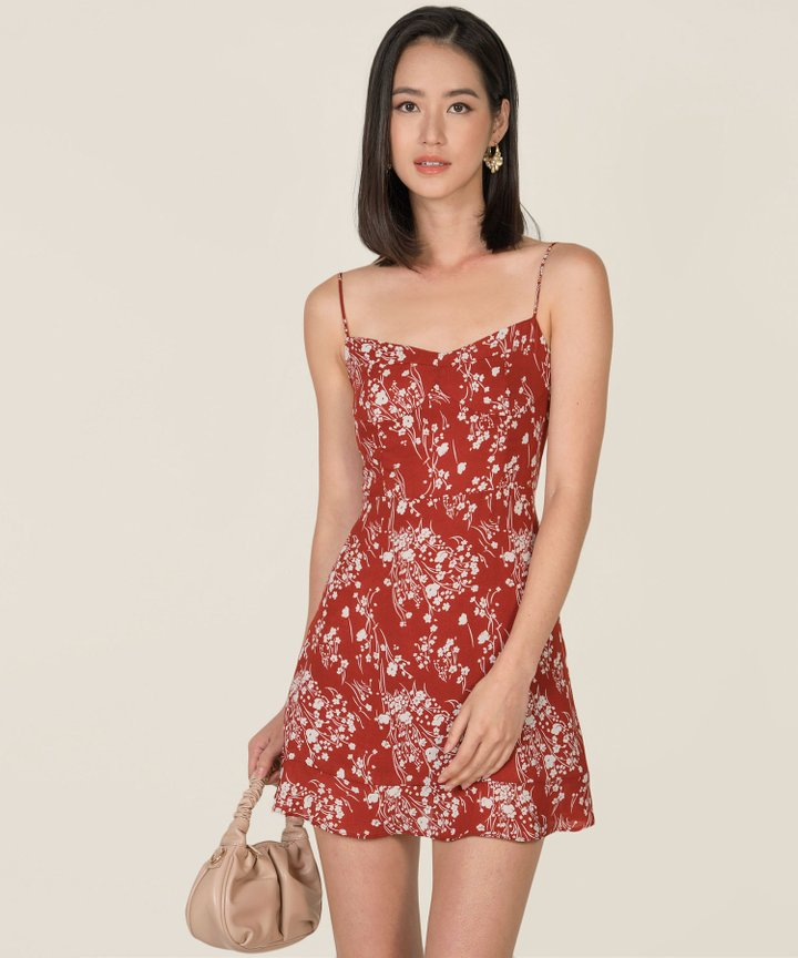 Pamplona Floral A-Line Dress (Backorder)