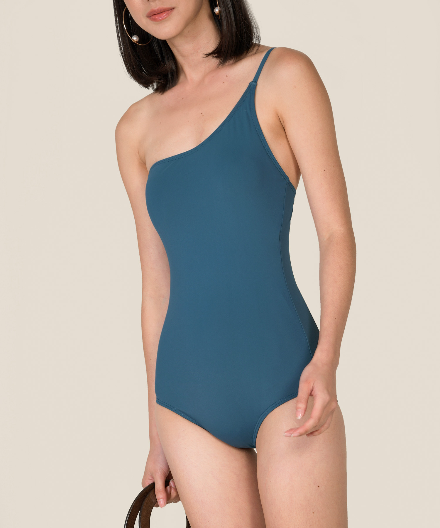 Paradise Bay Toga Swimsuit Teal
