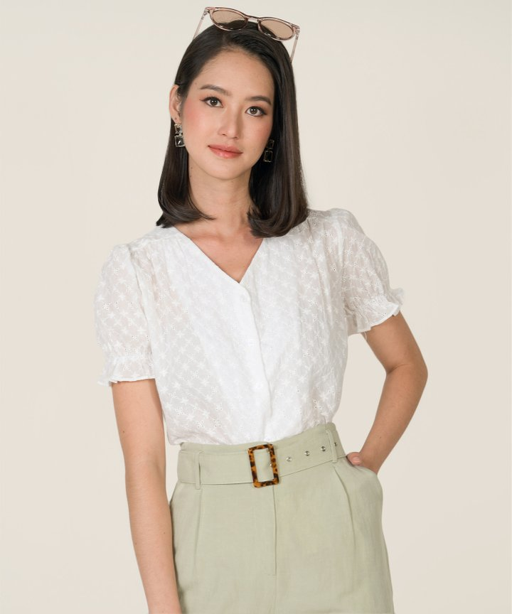Cosima Broderie Blouse