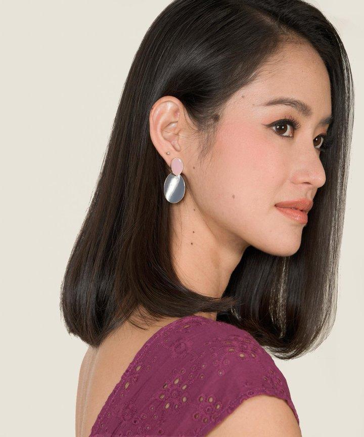 Fenton Oval Earrings