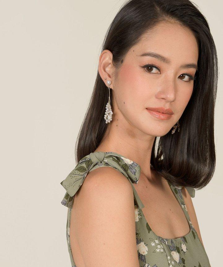 Mirana Pearl Vine Earrings