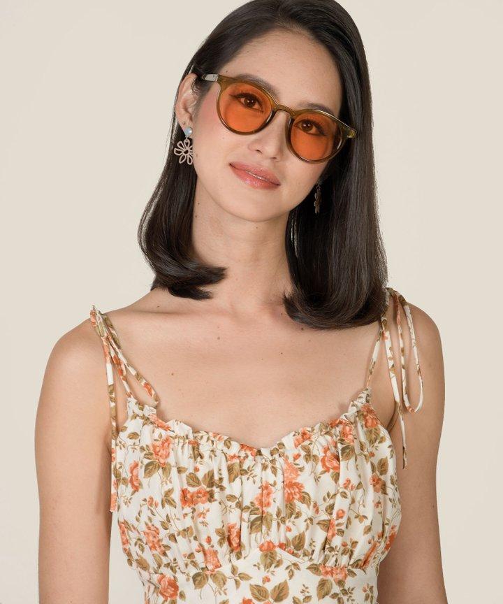 Ridley Sunglasses - Sepia