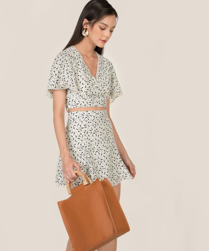 Esmerie Floral Co-ord - Off-White