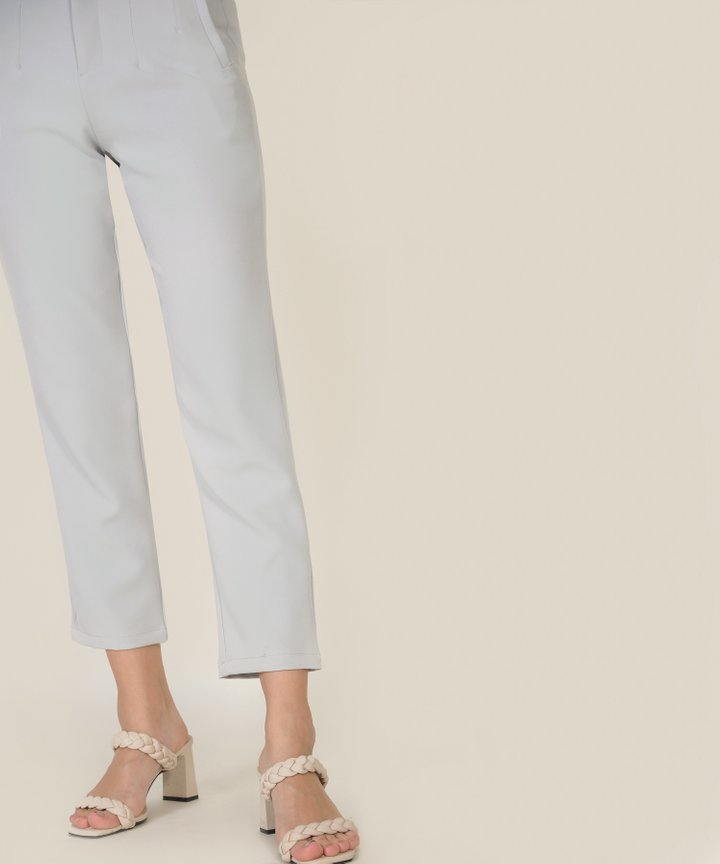 Jette Tailored Pants - Mist Grey