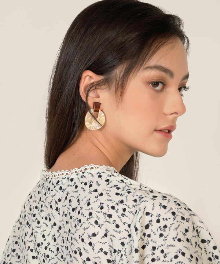 Tango Acrylic Earrings
