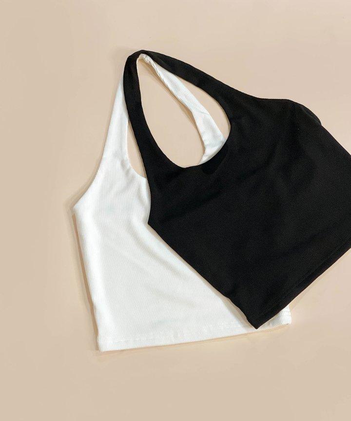 Bisou Knit Halter Top  - Bundle of 2