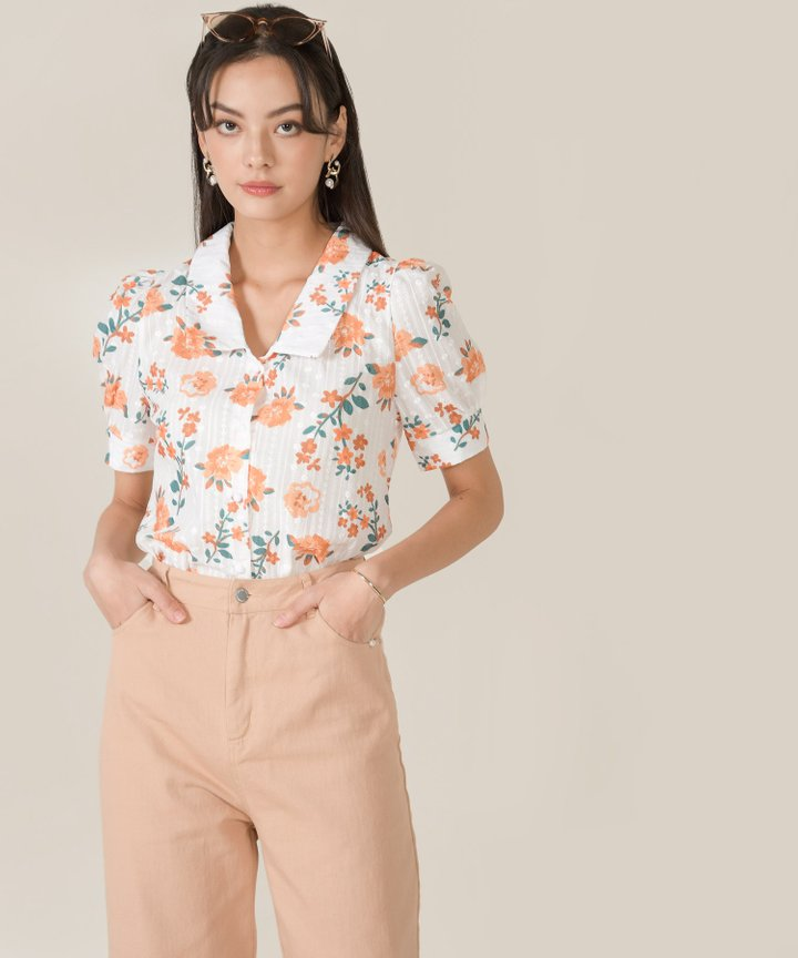 Ulla Floral Embroidered Blouse