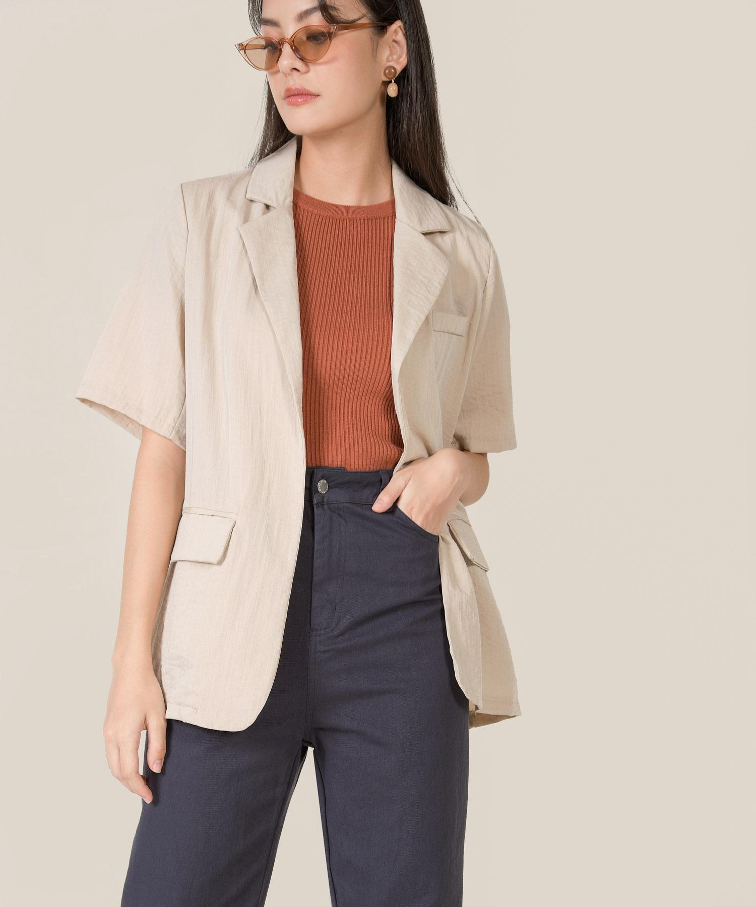 casablanca-linen-belted-jacket-sand-1