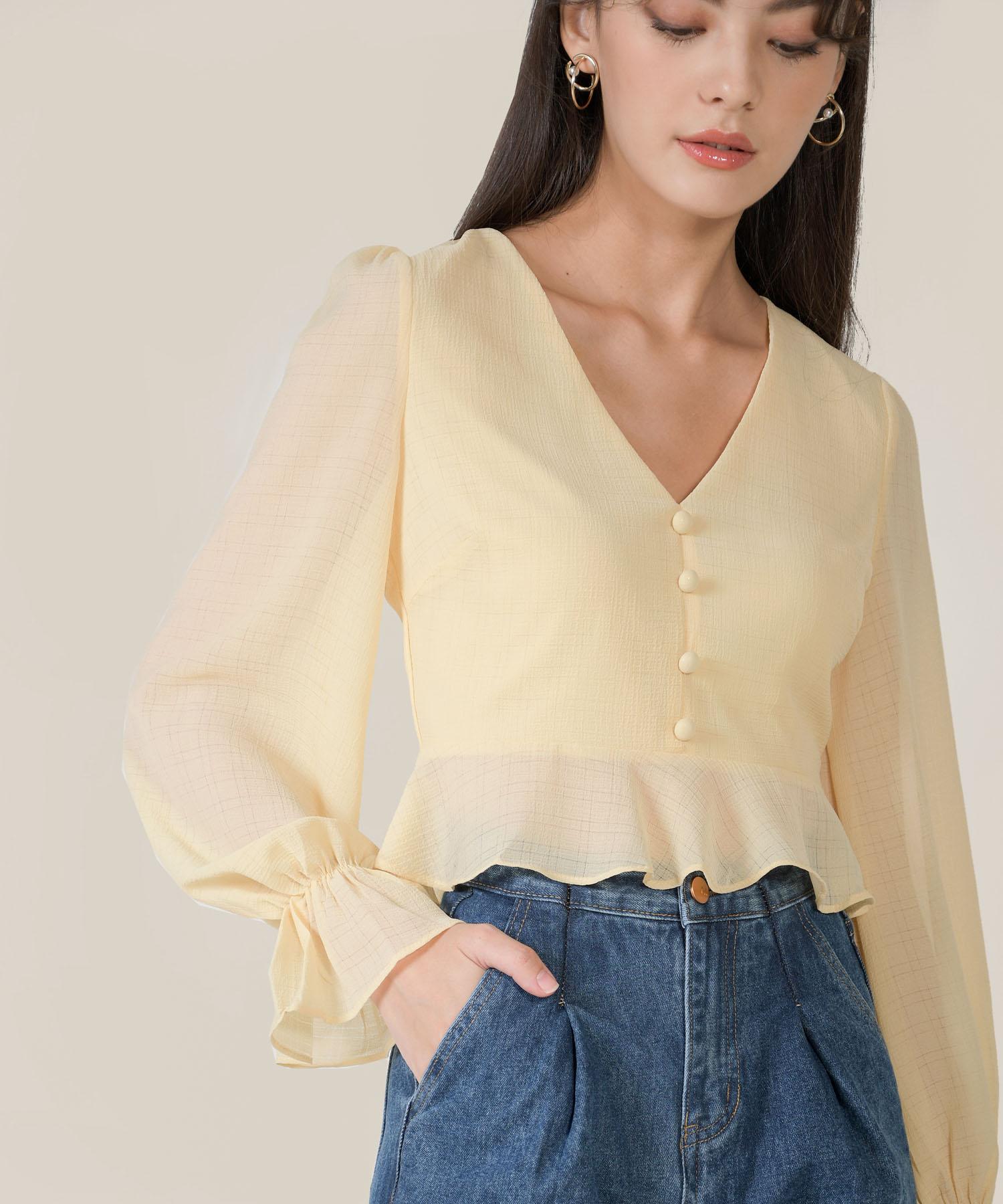 finley-textured-peplum-blouse-daffodil-1