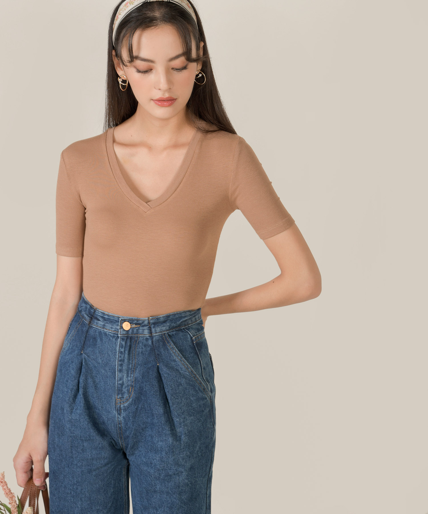 honeycomb-ribbed-knit-bodysuit-soft-cocoa-1