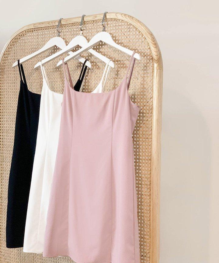 Montaigne A-line Slit Dress - Bundle of 3