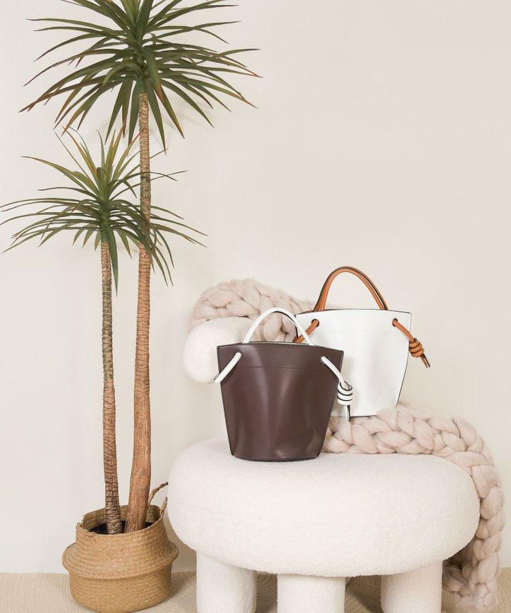 Sereda Bucket Handbag - Espresso