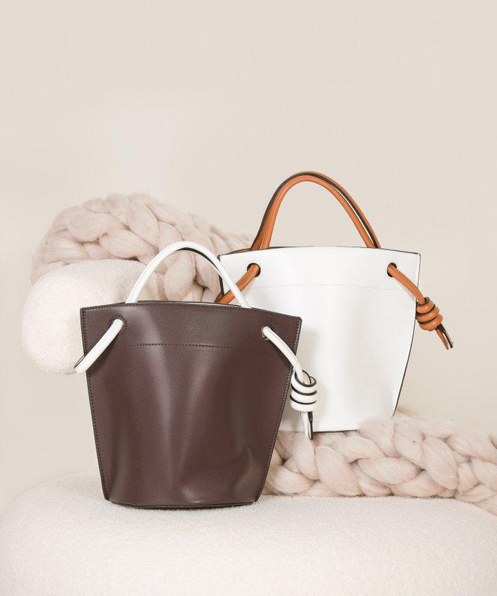 Sereda Bucket Handbag - White