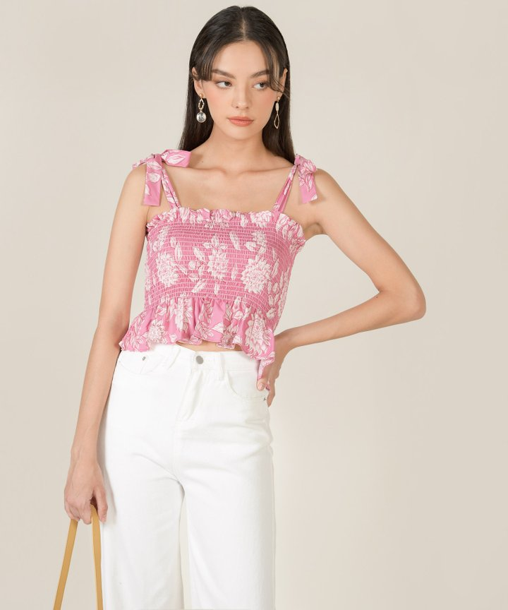 Carson High Waist Tapered Jeans - White