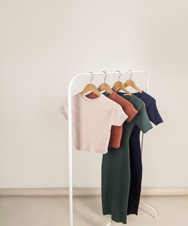 Etta Knit Twist Back Top - Bundle of 2