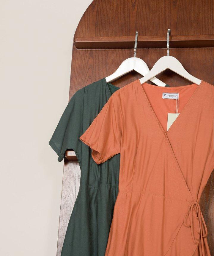Fallon Ruffle Wrap Dress - Bundle of 2