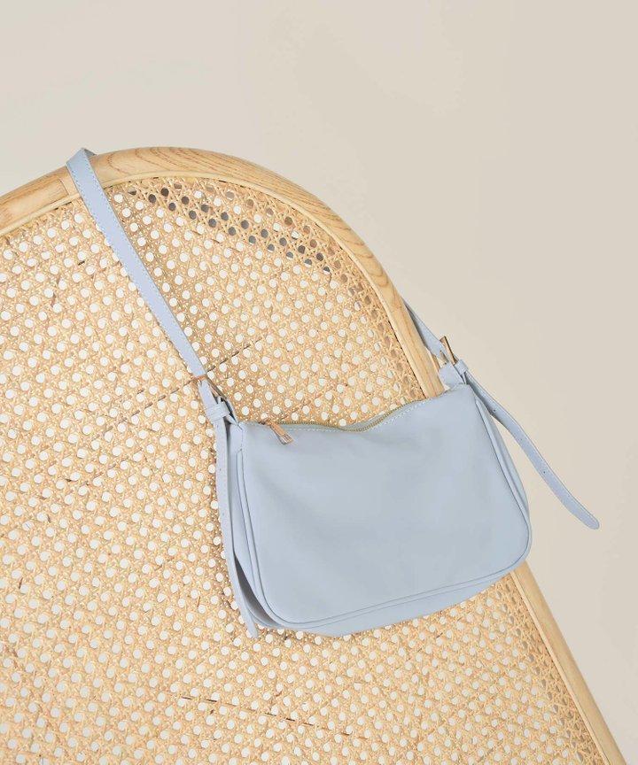 Flaire Rectangular Purse - Baby Blue