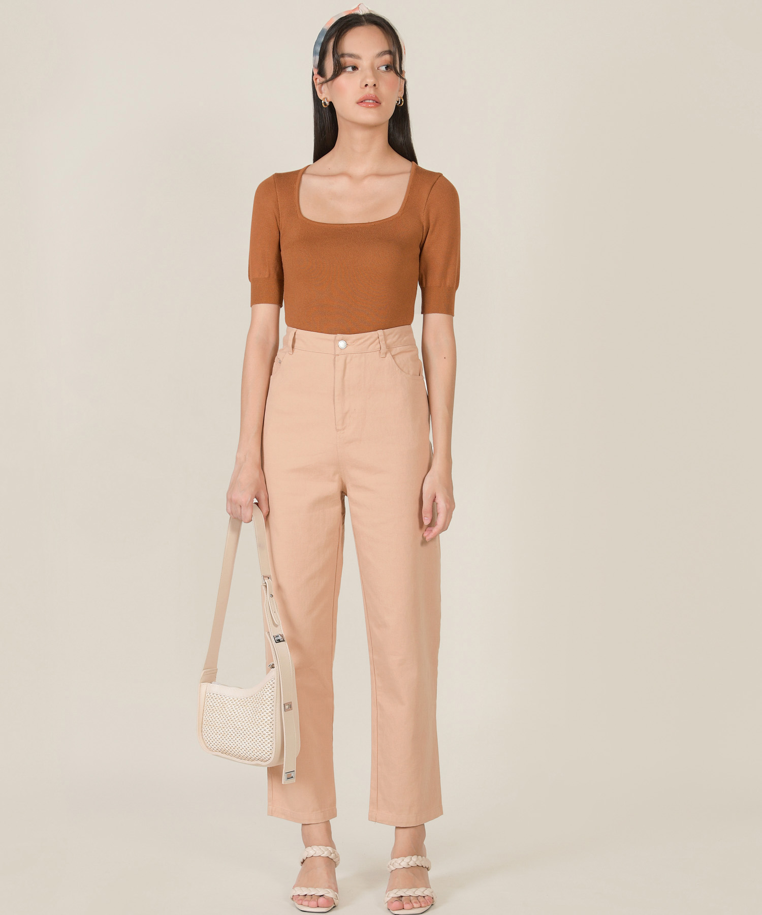 abrielle-trapeze-knit-top-ginger-brown-3