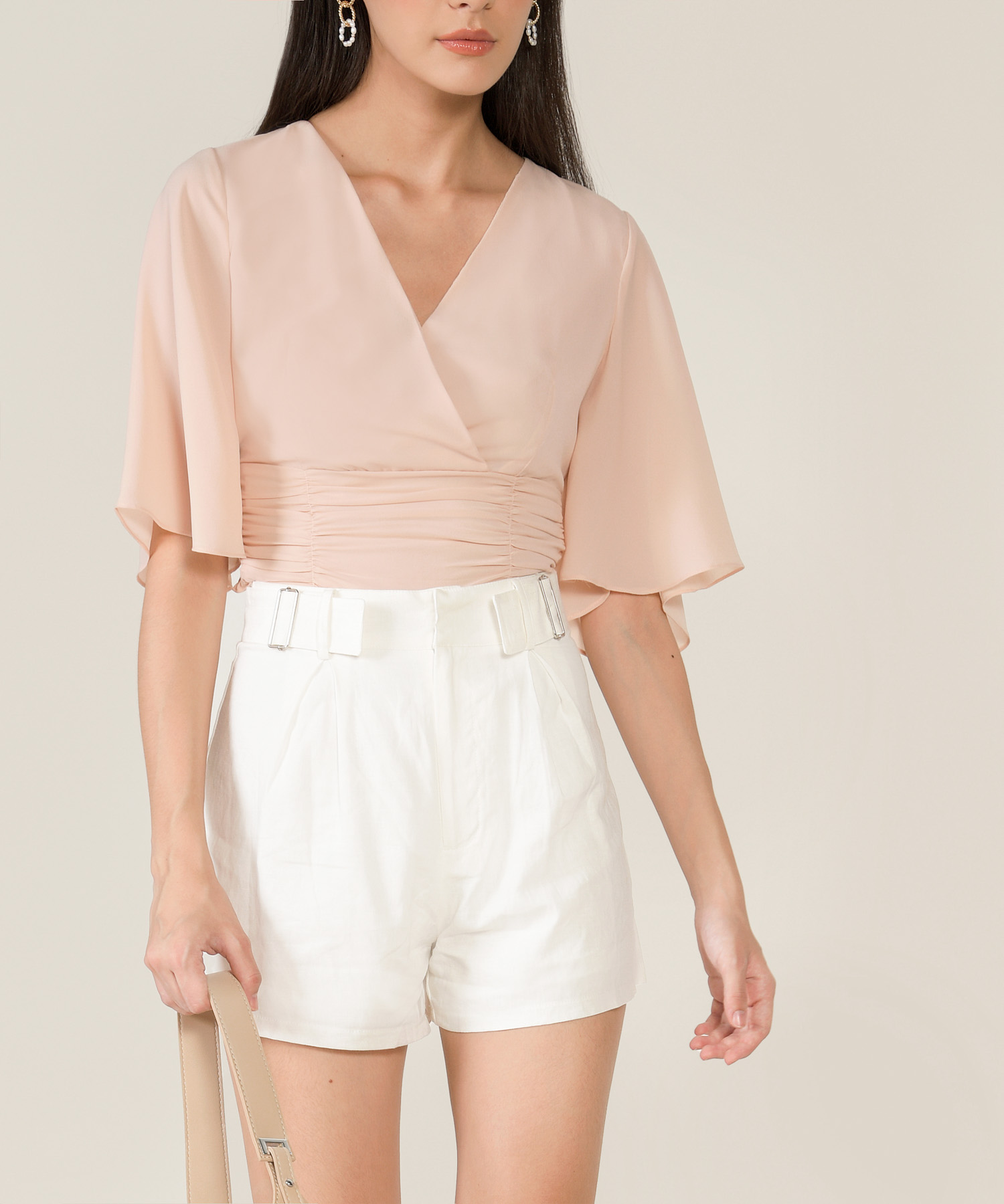 thalia-ruched-cropped-top-blush-1