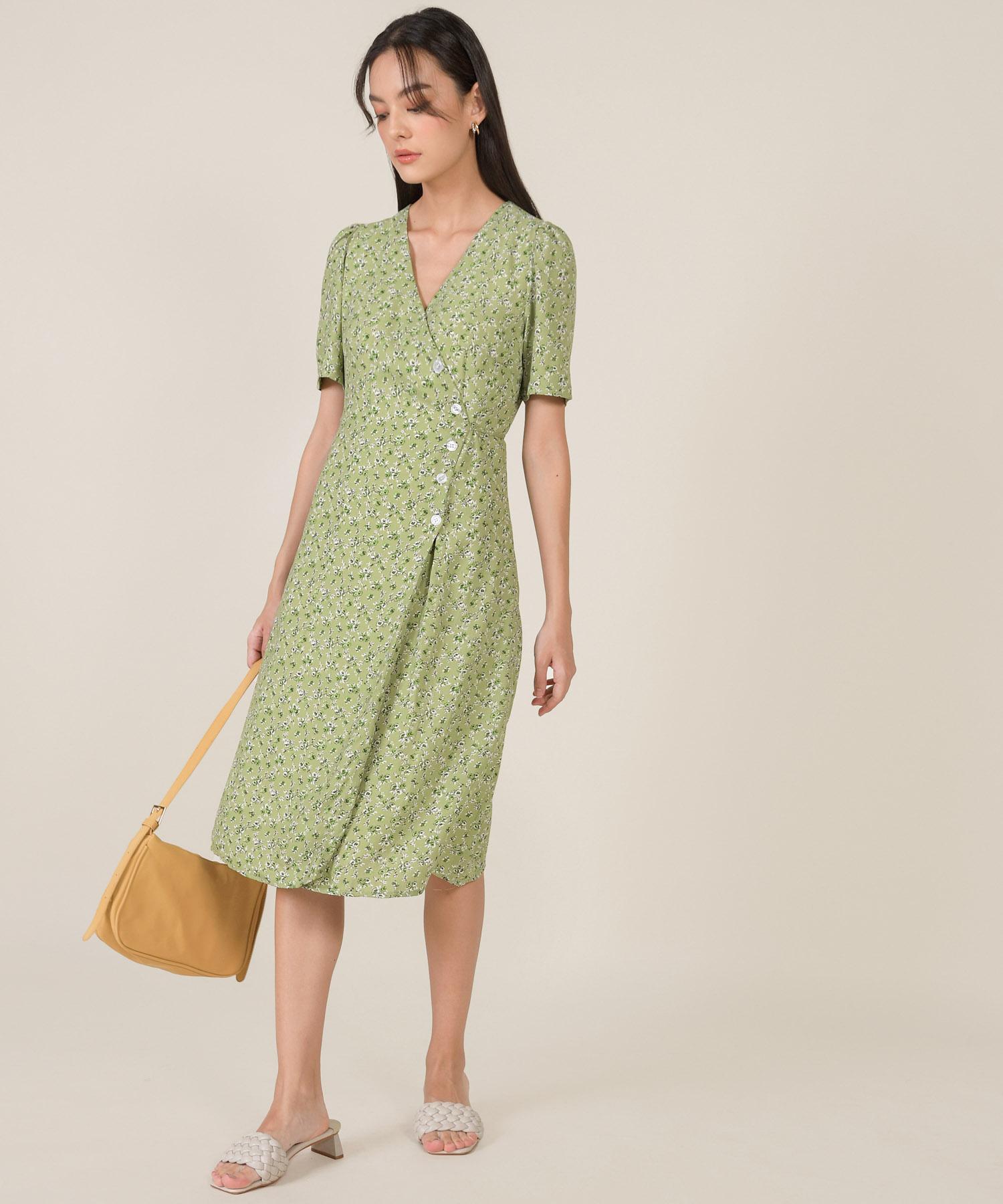 tienda-floral-wrap-midi-dress-matcha-1